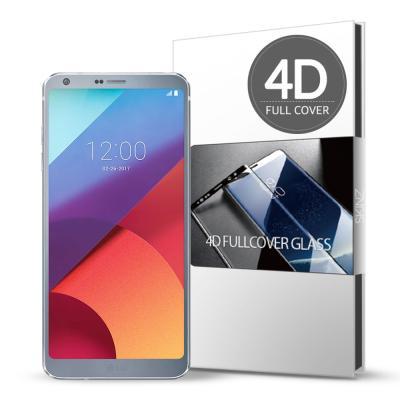 스킨즈 LG G6 4D 풀커버 강화유리 필름 (1장)