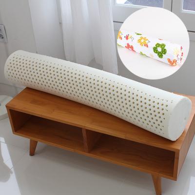 천연라텍스 꽃무늬 바디필로우 죽부인 베개 95x20cm