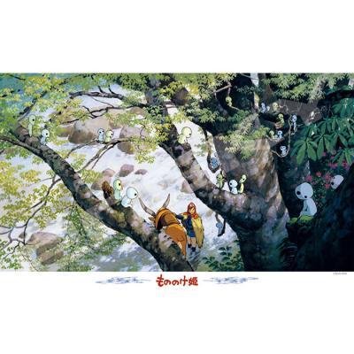 1000피스 직소퍼즐 - 원령공주 고다마의 숲