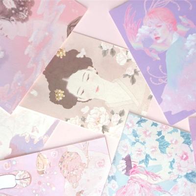 혜강 일러스트엽서-한국의 여인
