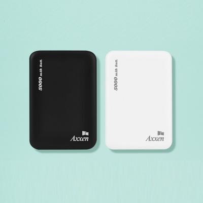 액센 B120 듀얼 USB포트 파스텔 보조배터리 5000MAH