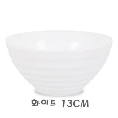루미낙 하레나대접 화이트13cm 6P(1박스)