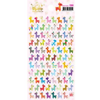강력한 포인트 cute giraffe 스티커