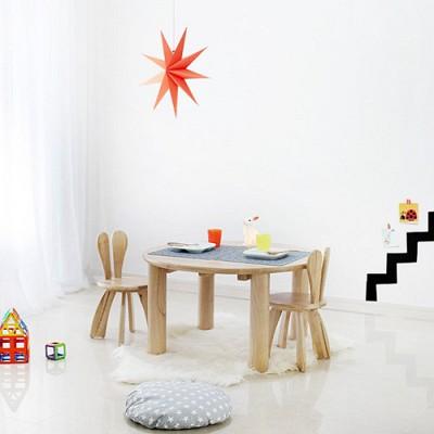 [벤트리]  토끼책상 의자 set