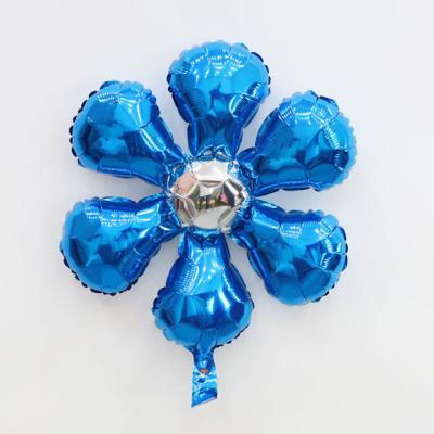 은박 꽃풍선 50cm (블루)