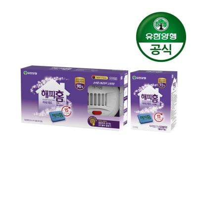 해피홈 New 파워매트형 전기훈증기+리필90매+리필72매