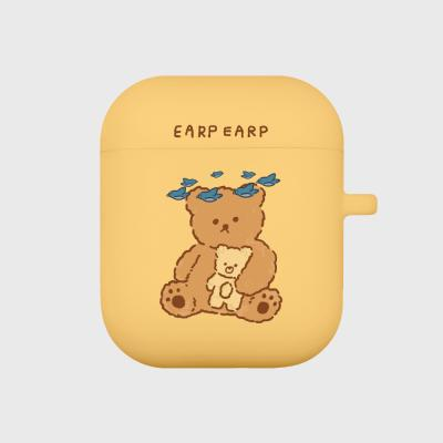 blue bird bear-yellow(Air pods)