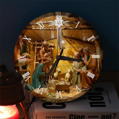 ng433-LED시계액자25R_아기예수태어난날