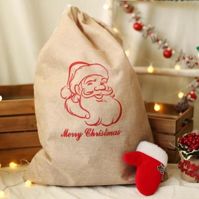 패브릭 산타 선물자루 (대) 산타