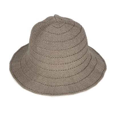 [디꾸보]나선 라인 포인트 벙거지 모자 DCH-AC551