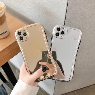 아이폰11 pro max xr xs se2 8 심플 유광 미러 케이스