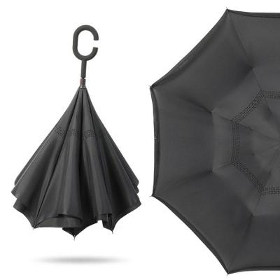 1+1 거꾸로접히는우산 C형손잡이 반전우산