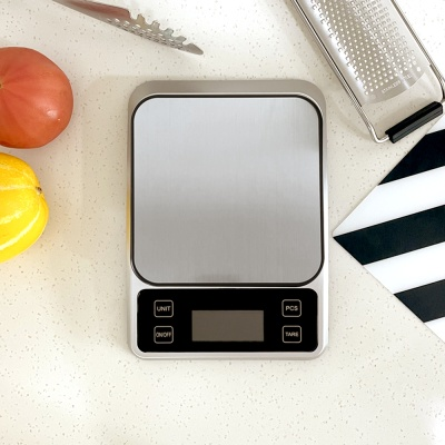 쿠이나 스테인리스 디지털 정밀 주방저울 1kg