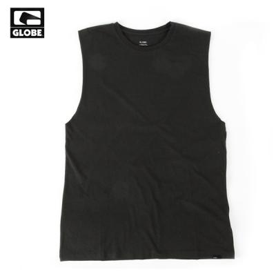 [GLOBE] LIFE WELL LIVED CUT OFF TANK TOP (TAR)