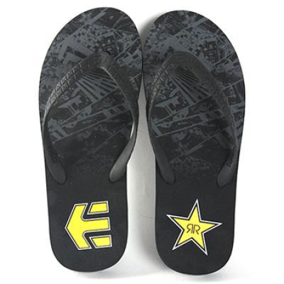 [Etnies SANDAL] TODOS X ROCKSTAR COLLAB (Black/Grey/Yellow)