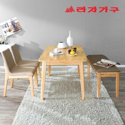 울런 원목 4인 식탁 테이블