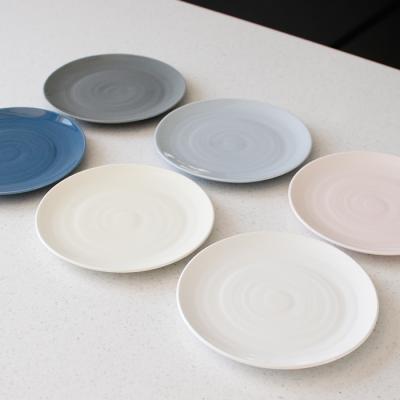 (국산)쏠레이 스마일 접시 소- 6color