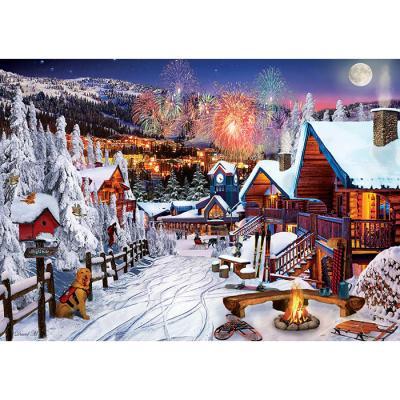 1000피스 직소퍼즐 - 겨울 축제