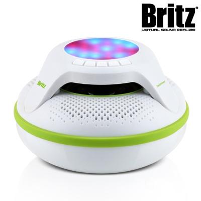 브리츠 휴대용 방수 블루투스 스피커 BA-B10 Swimmer (MicroSD카드 재생 / IPX7 방수 등급 / 6가지 LED / USB 충전)