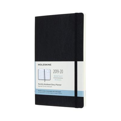 몰스킨 2020먼슬리(18M)/블랙 소프트 L
