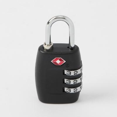 심플락 3자리 TSA 자물쇠(블랙)
