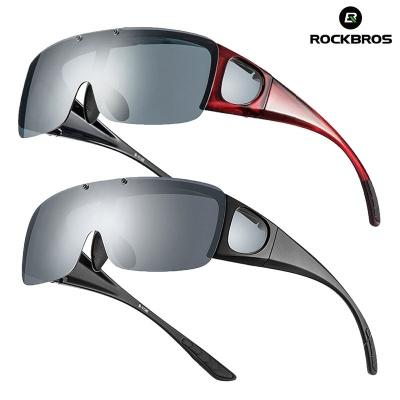 락브로스 안경위에 착용 플립업 스포츠고글 편광고글