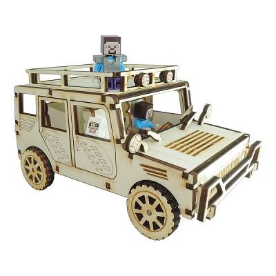 4륜구동 오프로드 자동차 모형만들기 CAR2015001