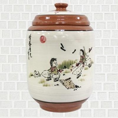 황토 쌀항아리 윷놀이 쌀독 용량 10kg CH1398835