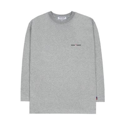 베테제 - [New Color] Time Long Sleeve (gray)