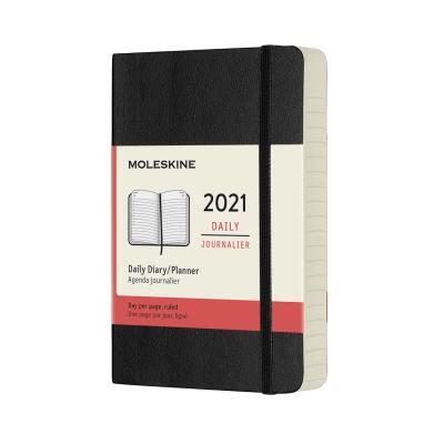 몰스킨 2021데일리/블랙 소프트 P
