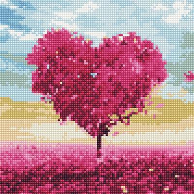 사랑나무 2 (캔버스형) 보석십자수 25x25
