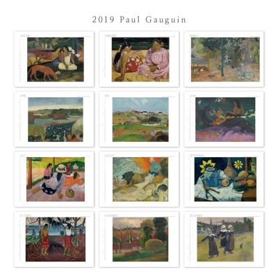 [2019 명화 캘린더] Paul Gauguin 폴 고갱