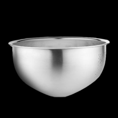 [쿠킹스]스텐 채반 믹싱볼(26x12.5cm)