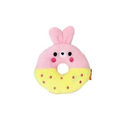 펫투유 우쭈쭈 큐티도넛 삑삑이 장난감 1개 토끼