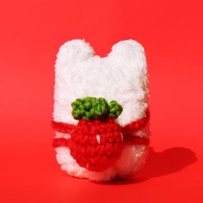 레이지띵 딸기백팩 베어띵 뜨개 에어팟 케이스