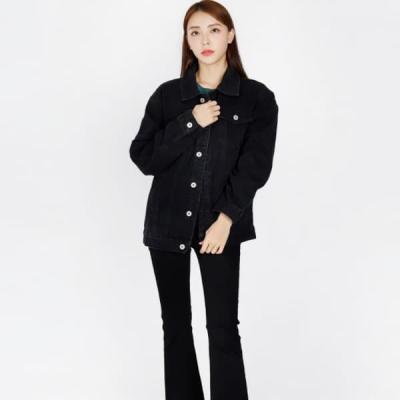 여성 청 자켓 재킷 퀄팅 캐주얼 아우터 모던 기본