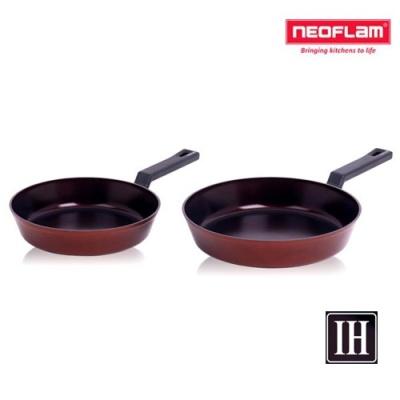 네오플램 프리미엄 IH 단조 후라이팬 2종(24+28cm)