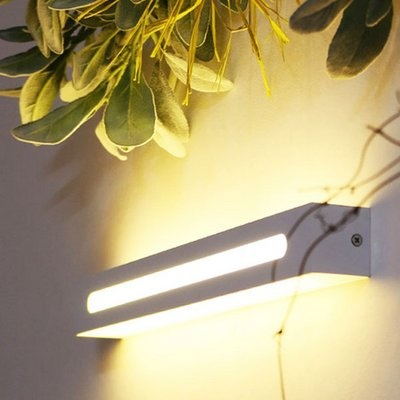 LED 요크 벽등(직사각) -화이트