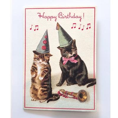 카드-Happy birthday cats2