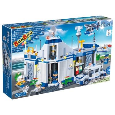 [3D퍼즐마을][반바오] BO8341 경찰서