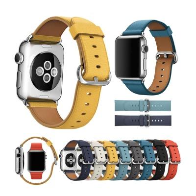 애플워치6 5 4 3 가죽밴드 스트랩 시계줄 38 40 42 44