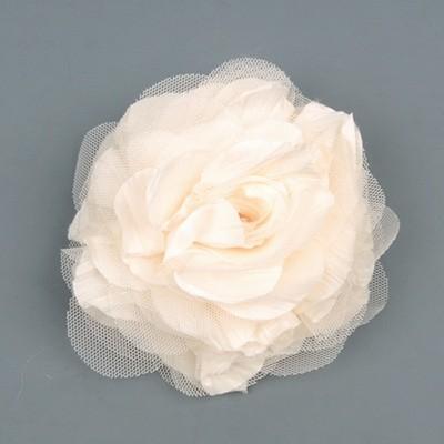 [헤어보우] Lobelia 헤어핀-Ivory