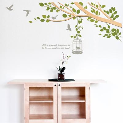 우드스티커- 봄봄 (반제품) 나뭇가지 W493 입체포인트