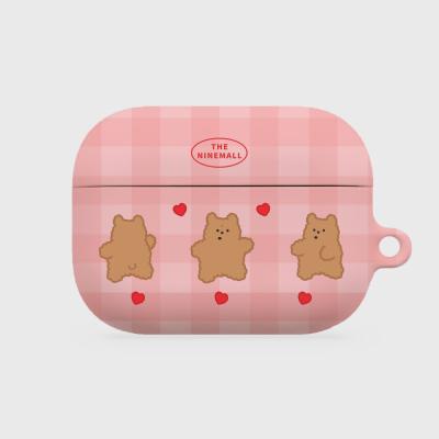 pink fluffy gummy 에어팟프로 하드케이스