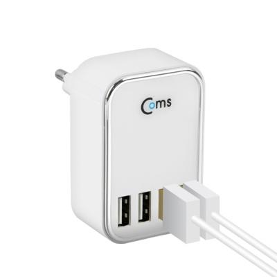 4포트 멀티충전기 멀티USB 핸드폰 고속충전기 LCKT974