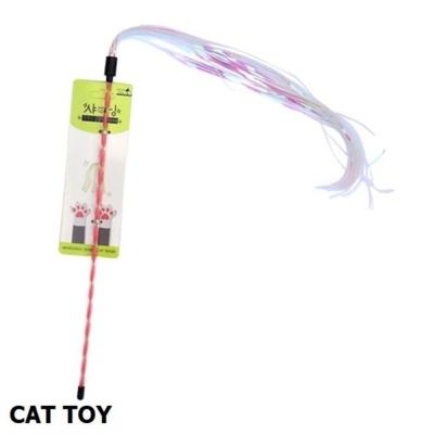 캣토이 우쭈쭈 샤이닝 쭉쭉이 고양이 낚시대 1개