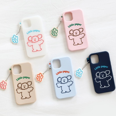 Little PaPer 리틀페퍼 실리콘 케이스 for iPhone12