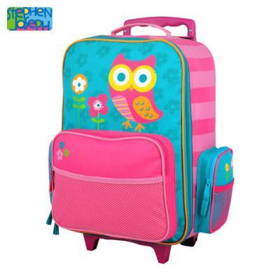 캐리어(유아용 여행가방) - 부엉이A
