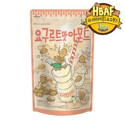 [길림양행] 요구르트맛 아몬드 210g