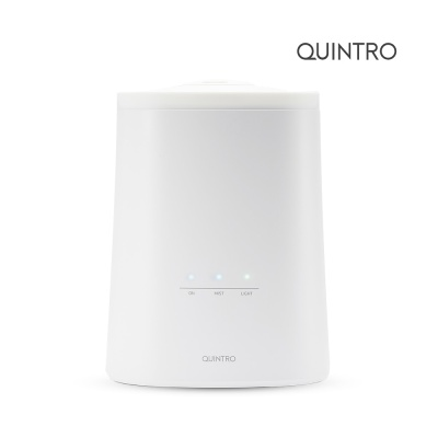 퀸트로 4.5리터 대용량 초음파 무드등 가습기 QHM10